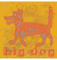 BIG DOG vector image vector image