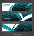 Collection banner design Horizontal vector image