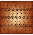 curls seamless pattern vector image