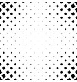 monochromatic square pattern - abstract background vector image vector image
