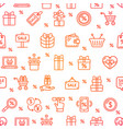 sale signs seamless pattern background on a white vector image