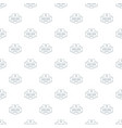 smart house pattern seamless vector image vector image