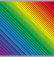 stacked rainbow colored stripes vector image
