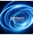 Abstract Blue Lights Effect Background vector image