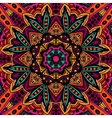Abstract geometric mosaic vintage ethnic seamless vector image vector image