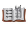 cookbook icon vector image