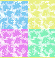 cute baby room colorful clouds background set vector image