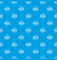 hygiene bacteria pattern seamless blue vector image