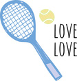 Tennis Score vector image vector image