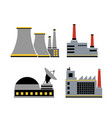 a set design industrial vector image