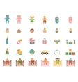 Babe icons for greetings card vector image vector image