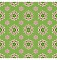 Creative Seamless Ornamental Mosaic Pattern vector image vector image