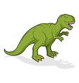 Dinosaur Tyrannosaurus Rex Prehistoric reptile vector image vector image