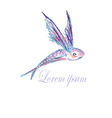 Fish Logo3 vector image vector image