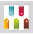 Modern Design template vertical banners vector image vector image