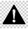 warning icon vector image vector image