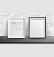 3d photo frame set good for your vector image
