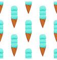 blue ice cream seamless pattern vector image