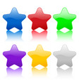 color stars icon vector image