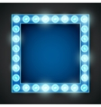 Frame lamp vector image vector image