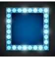 Frame lamp vector image