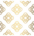 golden background luxury seamless pattern elegant vector image