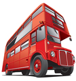 london double dacker bus vector image vector image