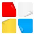 Paper sticker vector image vector image
