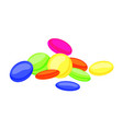 sweet candy icon cartoon style vector image