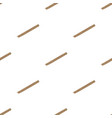 wooden flute icon in cartoon style isolated on vector image