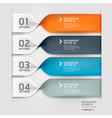 Spiral infographics options banner vector