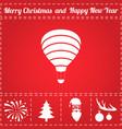 air balloon icon vector image
