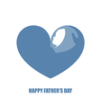 Blue strong arm holding a baby vector image vector image