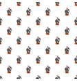 circus elephant pattern vector image