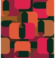 Geometric shapes in the sixties style vector image vector image