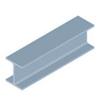isometric steel beam vector image