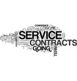 it service contracts practice makes perfect text vector image vector image