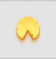 piece cheese icon vector image