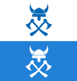 Sign of Vikings Equipment vector image