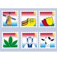 dutchstamps vector image