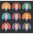 Emotions of a Businessman vector image vector image