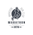 Marathon Club Black Label Design vector image vector image