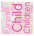 My Child Steals text background wordcloud concept vector image vector image