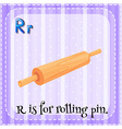 Rolling pin vector image vector image