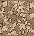 seamless texture of stone wall vector image vector image