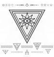 Set of geometric hipster shapes 9zn72211d3 vector image