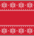 traditional seamless knitted pattern vector image