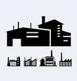 a set of design industrial vector image vector image