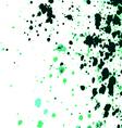 colorful acrylic paint splatter on white