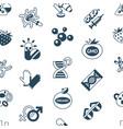 digital genetic engineering technology vector image